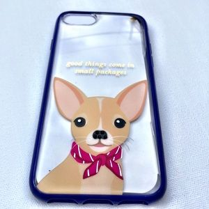 New Kate Spade Chihuahua IPhone 6/7 Case